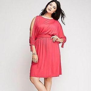 NWT Lane Bryant size 14/16 yellow dress